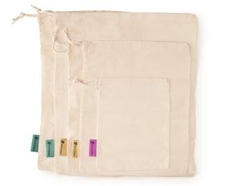 Reusable Produce Bags - Organic Cotton