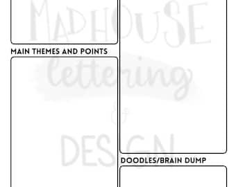 ADHD Note Taking PDF