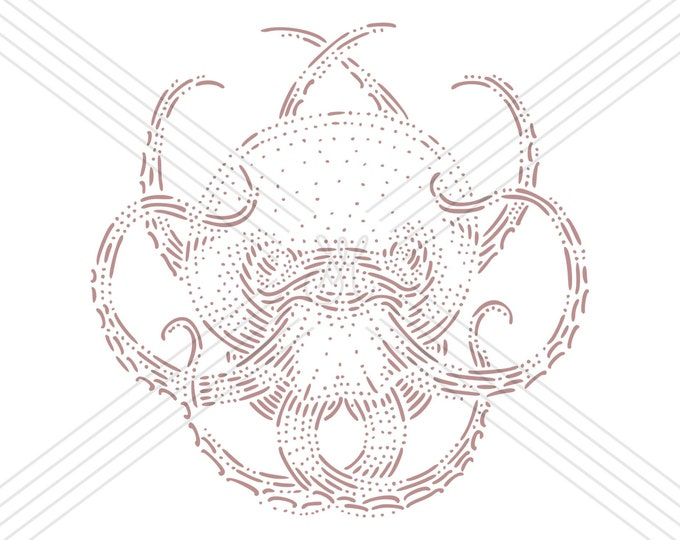 Octopus · Hand-drawn vector illustration