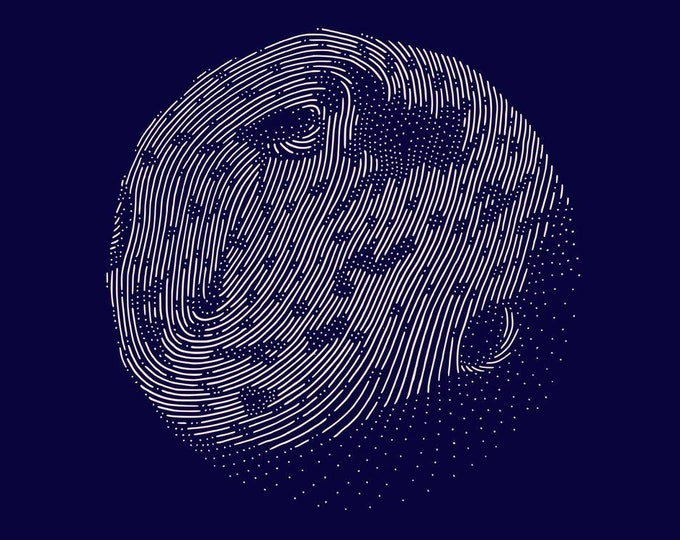 Asteroid #2 · Hand-drawn vector illustration
