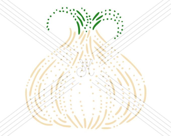 Garlic · Hand-drawn vector illustration