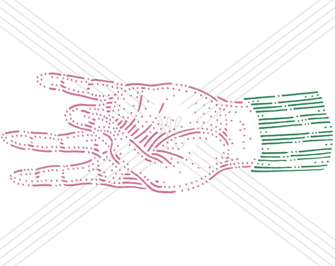 Hand #7 · Hand-drawn vector illustration