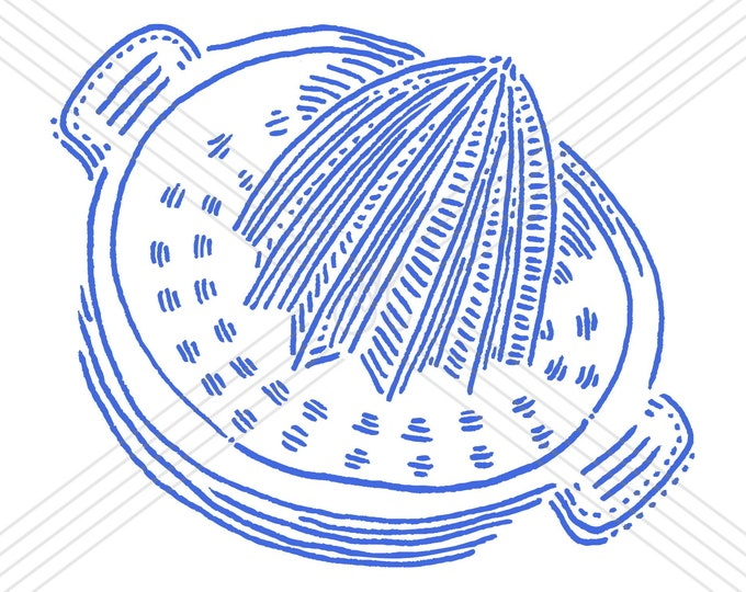 Lemon squeezer #2 · Hand-drawn vector illustration