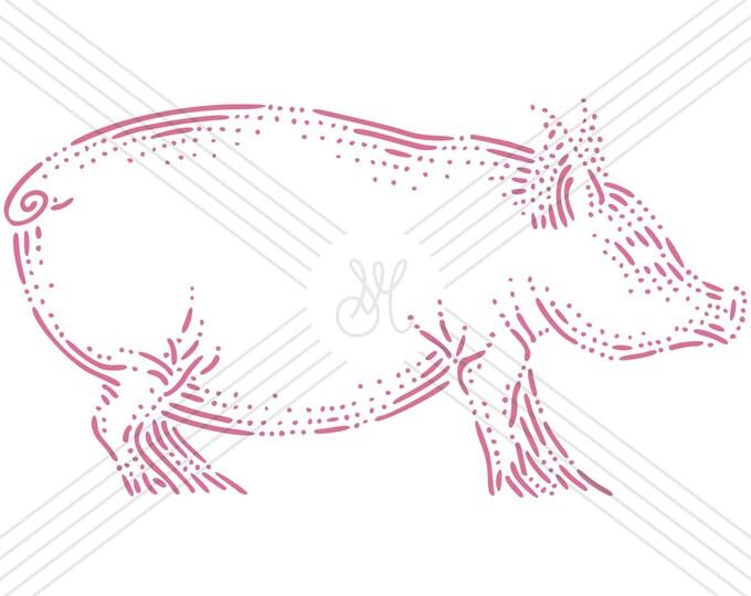 Pig · Hand-drawn vector illustration