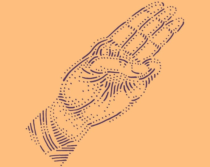 Hand #8 · Hand-drawn vector illustration