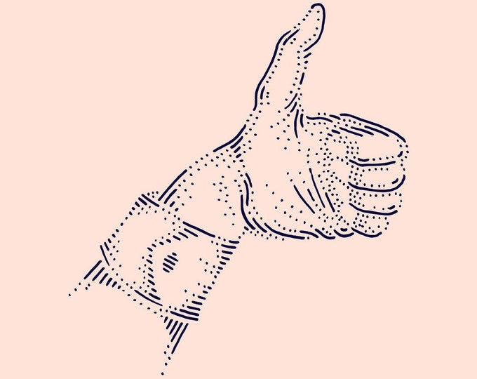 Hand #4 · Hand-drawn vector illustration