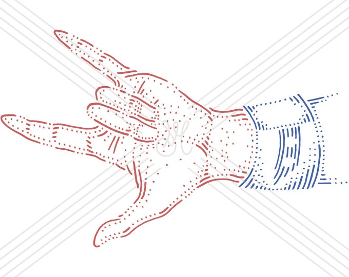 Hand #3 · Hand-drawn vector illustration