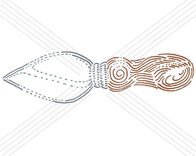 Knife #5 · Hand-drawn vector illustration