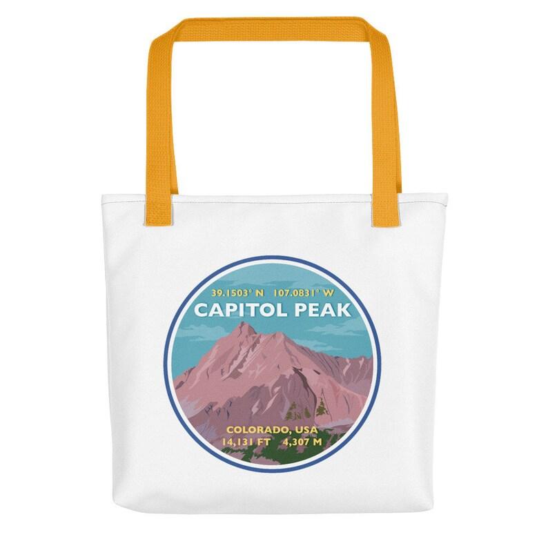 Capitol Peak Tote bag