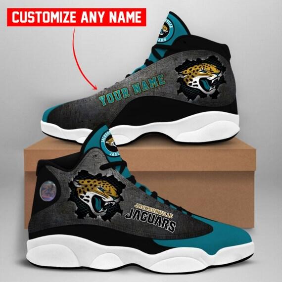 NFL Jacksonville Jaguars Air Jordan 13 Shoes Personalized   Etsy