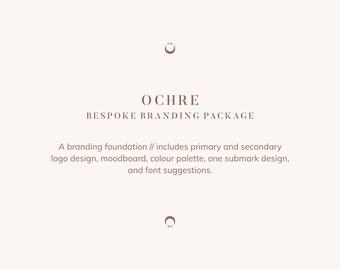 Bespoke Brand Package: Ochre // a branding foundation, custom designed mini-branding package