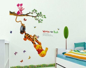 Details about  /Favorite Day Pooh Cartoon Quote Kids Vinyl Art Sticker For Home Room Wall Decals