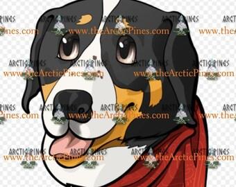 Greater Swiss Mountain Dog Sticker - Xena Sticker - Called to the Wild