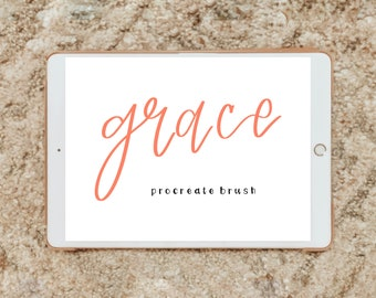 GRACE procreate brush/instant download
