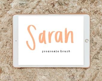 SARAH procreate brush/instant download