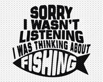 Download Funny Fishing Saying Etsy