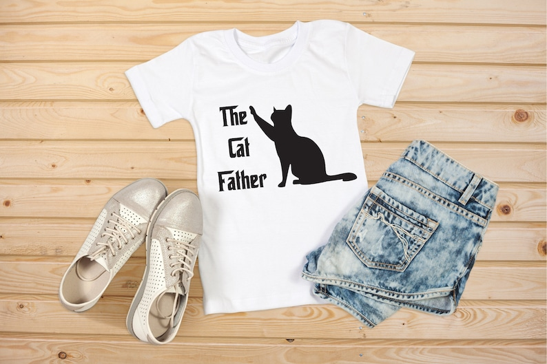 The Cat Father Special Day Gift Tshirt Birth Day Gift Shirt Gift
