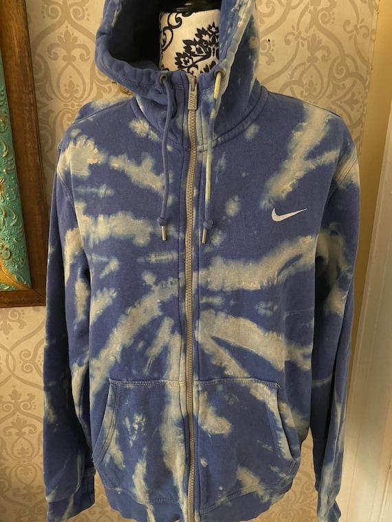 Nike fill zip front hoodie