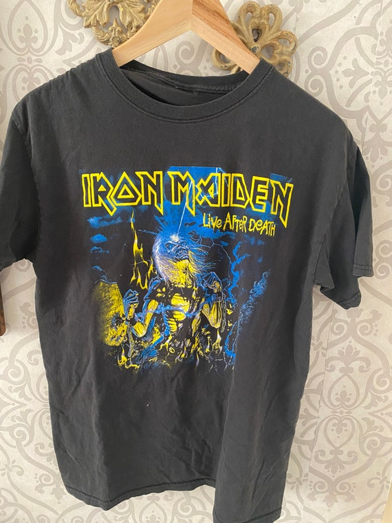 Iron Maiden vintage graphic tee