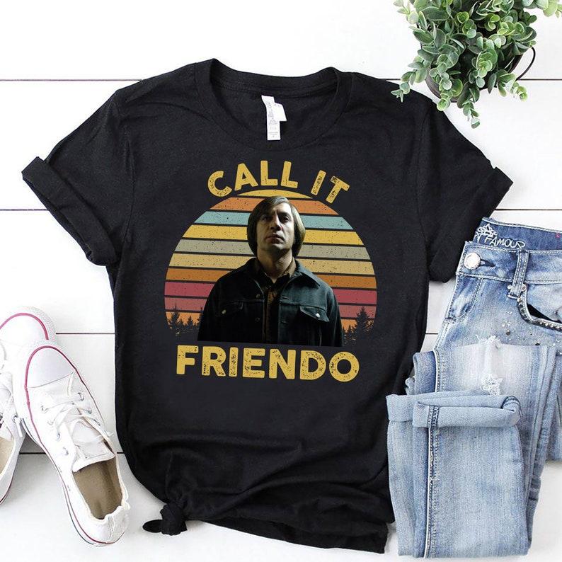 Call It Friendo Retro Vintage 80s 90s Birthday Gift Shirt Sweatshirt