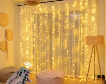 LED Curtain Style String Light for Bedroom Decoration Gift Lights Fairy LED Décor Light Guirlandes Lumineuses de Rideau