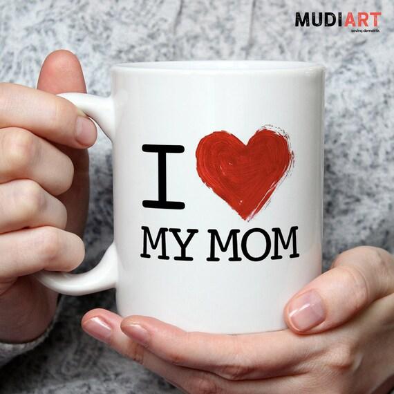 Mama Becher ich liebe meine Mutter Becher Muttertag | Etsy