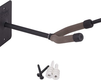 Cello Hanger Wall Mount with Bow Holder Peg Electric and Acoustic