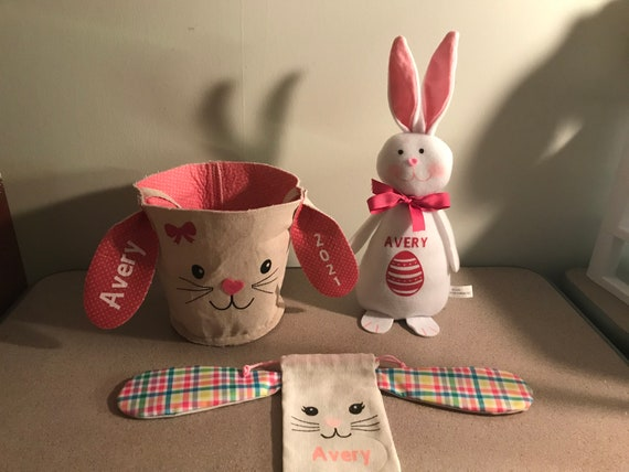 3 Pc. Personalized Easter Gift Set