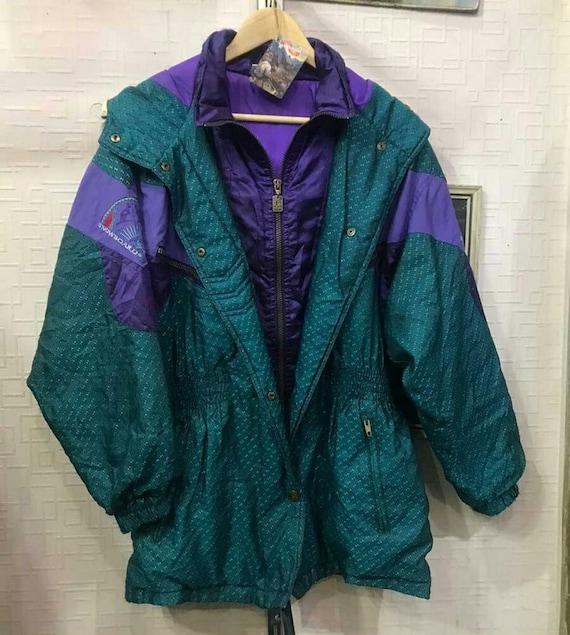 Green vintage parka, parka jacket men, parka jacke