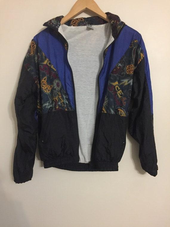 vintage bomber, vintage sport jacket, jacket men,