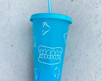 Dental custom cup