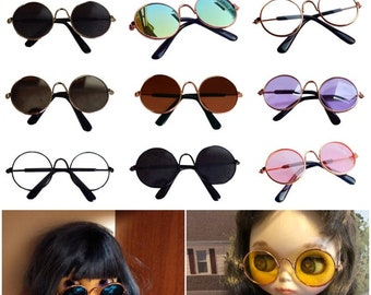 """MINIATURE EYEGLASSES Spectacles for Your Plush Toy Bean Bags Dolls 2.25/"""" Wide"""