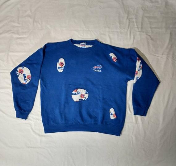 Vintage 90's Buffalo Bills Bespoke Sweatshirt