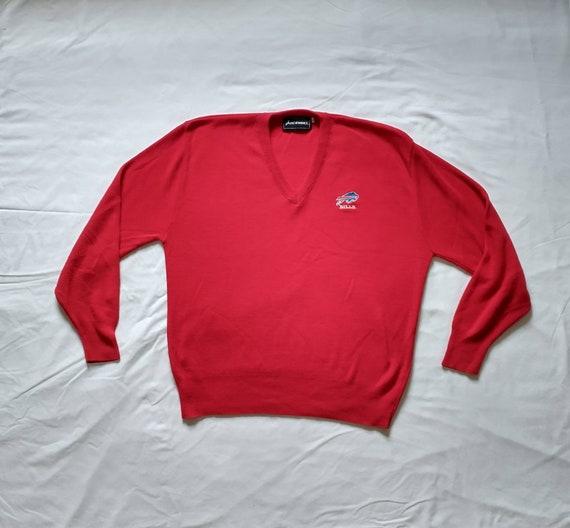 Vintage 90's Buffalo Bills V Neck Sweater