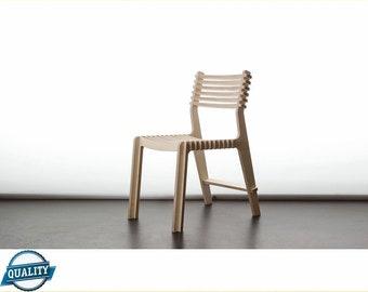 Chair. Laser cut Files SVG DXF CDR vector plans, files Instant download, cnc pattern, cnc cut, laser cut