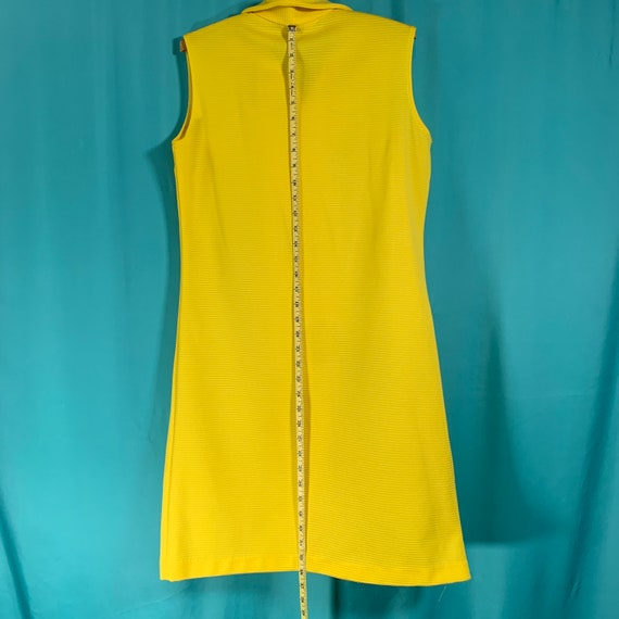 Primstyle Vintage bright yellow 1960s style polye… - image 6