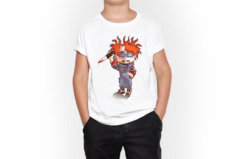 Kid Gift Kid Shirt Chucky Graphic Kids T-Shirt Toddler Gift Kid Tshirt Kid Birthday Kid Tee Toddler T-Shirt