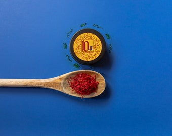 10 Grams   Persian Pure Saffron   Free Shipping   All Red Threads   Best Online Price   Lab Tested, Fresh, Premium Grade