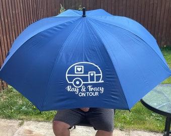 PERSONALISED Golf Storm Proof Umbrella