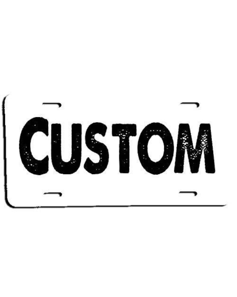 Z003-1 Purchase Additional Discounted Copies of Your Custom License Plate Tag