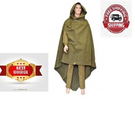 New. N.O.S. Original SOVIET Military Raincoat Tent