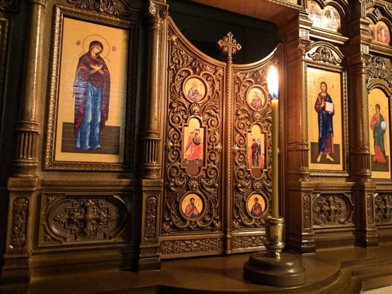 23 Home Iconostasis 文艺复兴风格的祈祷角 家居图片 6