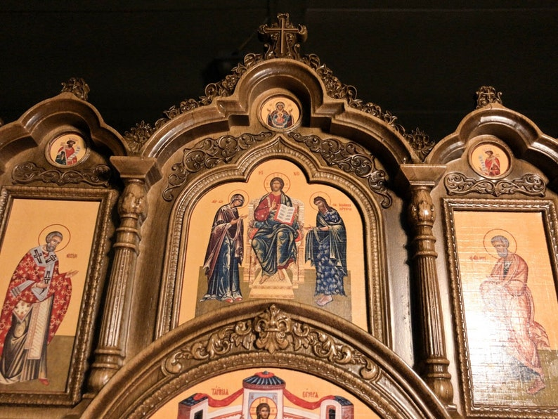 23 Home Iconostasis 文艺复兴风格的祈祷角家居图片 5