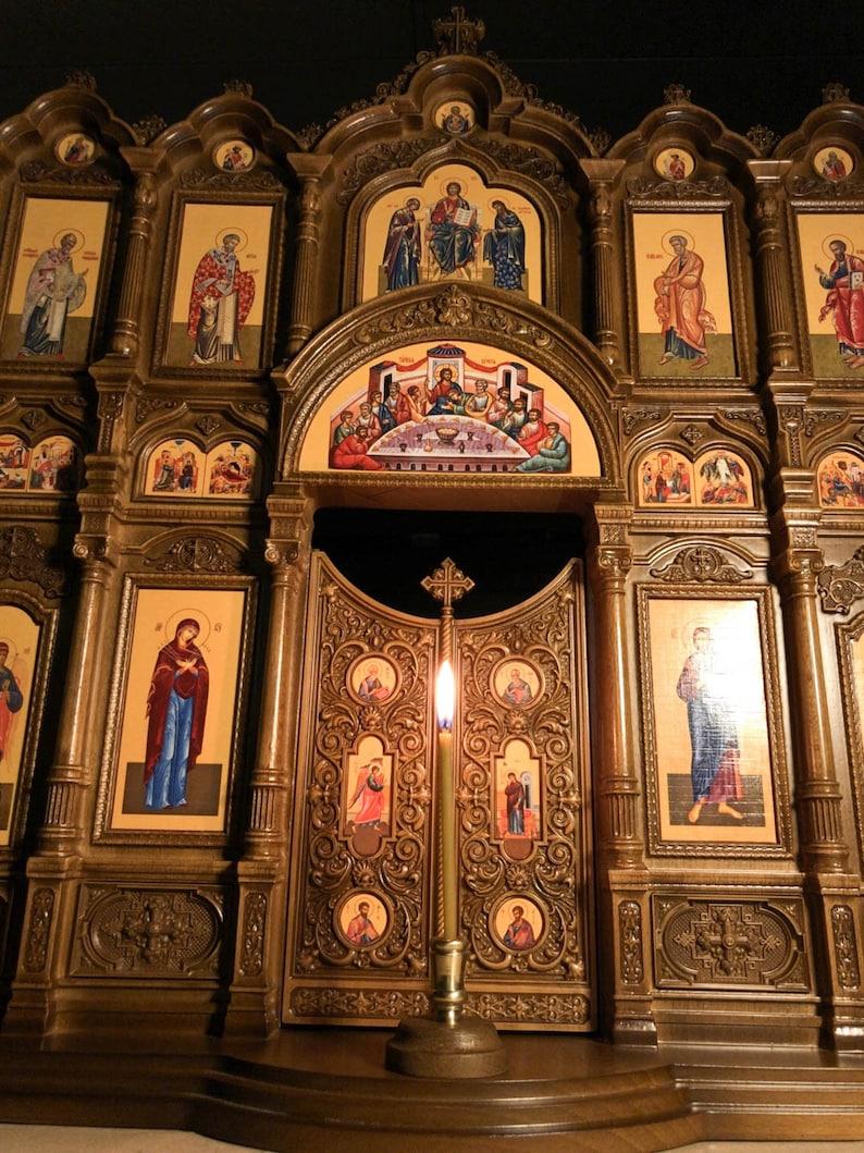 23 Home Iconostasis 文艺复兴风格的祈祷角家居图片 2