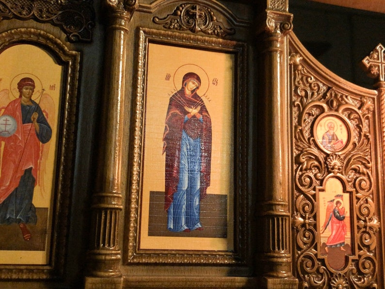 23 Home Iconostasis 文艺复兴风格的祈祷角家居图片 9