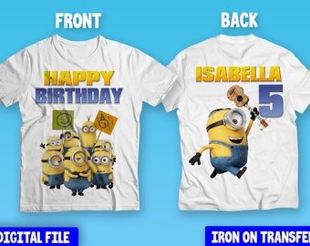 Licensed Minions I Can/'t Adult Today Baseball Long Sleeve T-Shirt S-XXL Sizes