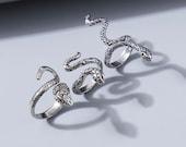 Snake Ring Set of 3