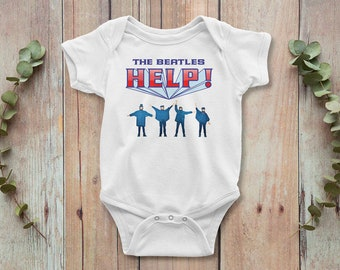 Abbey Road All You Need Is Love Bodysuit Cool Funky Beatles Baby Grow Beatles Baby Bodysuit Perfect Gift for Beatles Fans