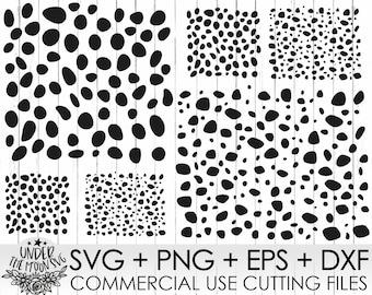 Dalmations Spots Svg,Dalmatian Svg, Dalmation Spots Svg File, Spots Pattern Svg ,Dog Svg, Dalmation Spots Clipart ,Animal Spots Svg ,Dxf,Png