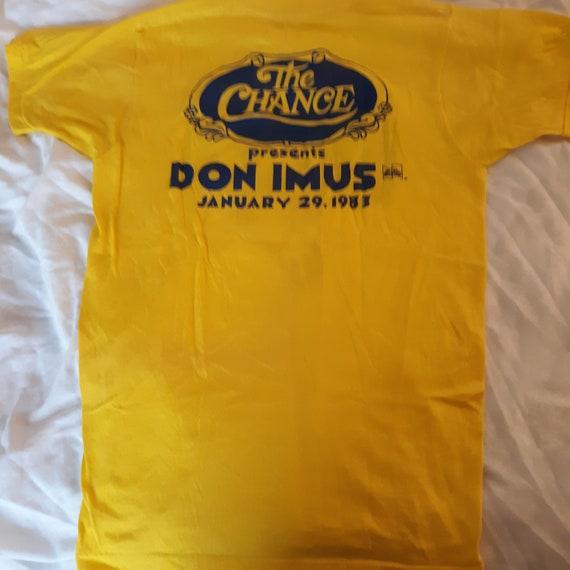 Vintage Don Imus Comedy Tour T